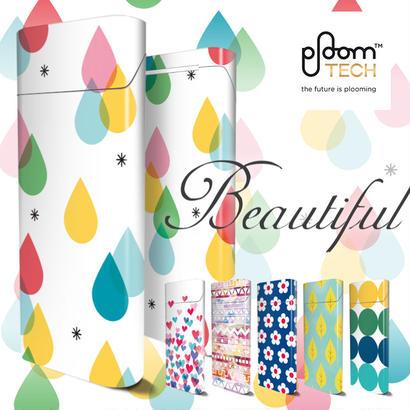 【全面対応フルカスタム!】Ploom TECH プルームテック4  【選べる6デザイン】専用スキンシール 裏表2枚セット