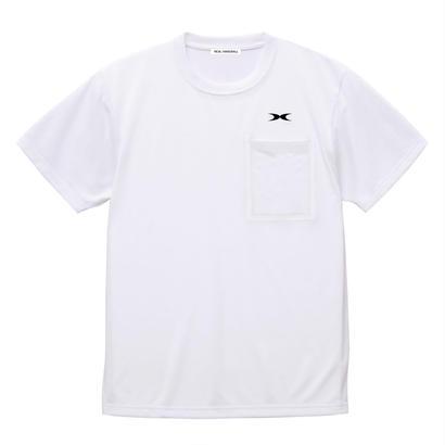 ドライポケットTシャツ ホワイト