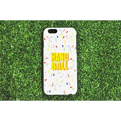 iphoneケース  90sPOPパターン ホワイト ★iPhone対応 5/5s/SE 5c 6/6s 6Plus/6sPlus 7 7plus 8 8plus/X★