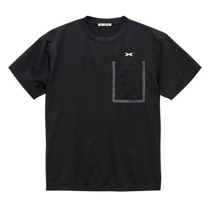 ドライポケットTシャツ ブラック