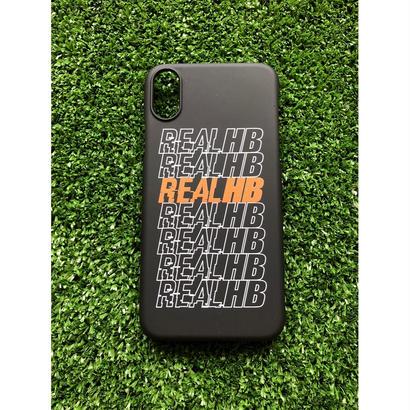iphoneケース REALHBロゴ7 ★iPhone対応 5/5s/SE 5c 6/6s 6Plus/6sPlus 7 7plus 8 8plus/X★