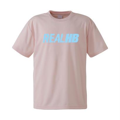 期間限定 ベーシック ドライメッシュTシャツ ライトピンク