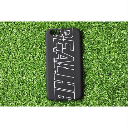 iphoneケース  BIG LOGO ブラック ★iPhone対応 5/5s/SE 5c 6/6s 6Plus/6sPlus 7 7plus 8 8plus★
