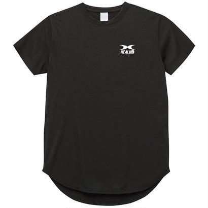 ドライラウンドTシャツ ブラック