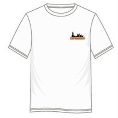 西日本豪雨復興支援グッズ ハウステンボス緊急大作戦 official Tシャツ WHITE