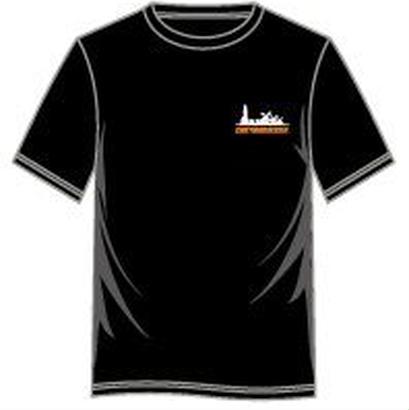 西日本豪雨復興支援グッズ ハウステンボス緊急大作戦 official Tシャツ BLACK