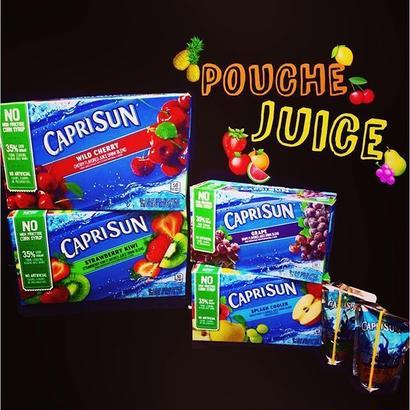 CAPRISUN®︎ pouch juice