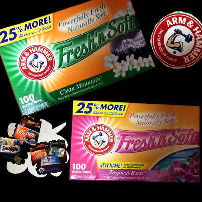 ARM & HAMMER®-Fresh's Soft-香りシート