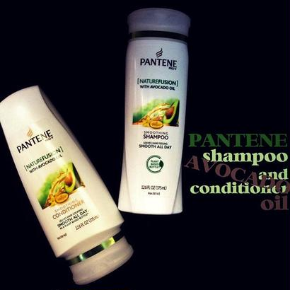 PANTENE with AVOCADO OIL-shampoo & conditioner-