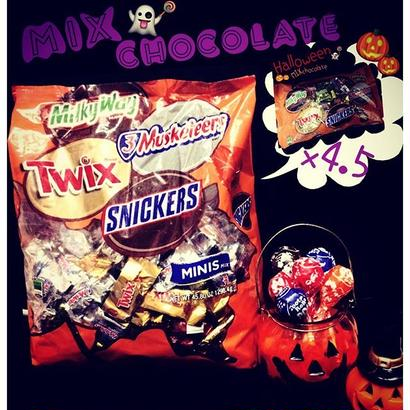 ✞MIX chocolate minis☻{Halloween限定✞BIG size