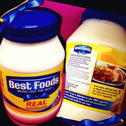 "Best Foods REAL ""Bring out the best"""