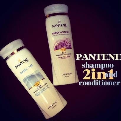PANTENE 2in1-shampoo & conditioner-