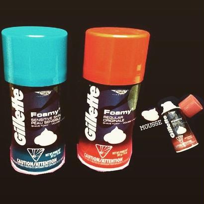 Gillette® Foamy-shave fome/mousse-