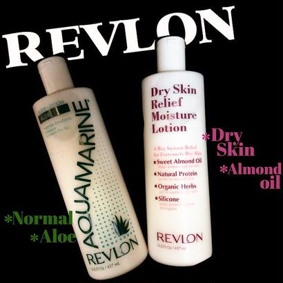 REVLON body lotion