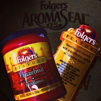Folgers Hazelnut flavor-drip coffee-
