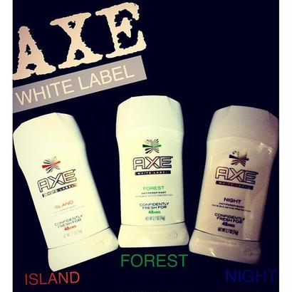 AXE WHITE LABEL deodorant powder