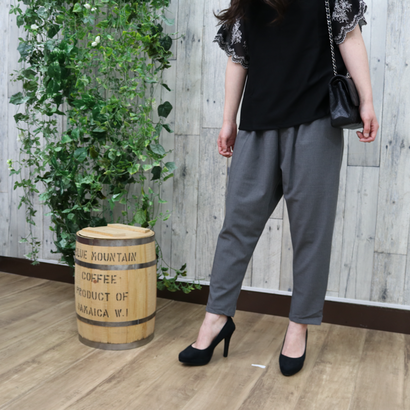 SARROUEL PANTS gray