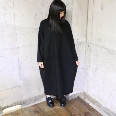 BALLOON DRESS black