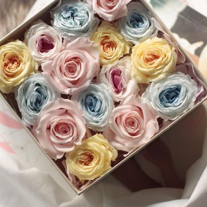 pastel color フラワー BOX