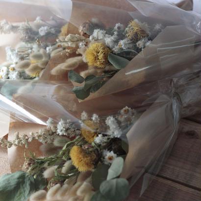 yellow botanical bouquet
