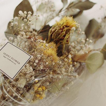 黄金矢車草bouquet