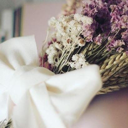 ドライフラワー pink bouquet