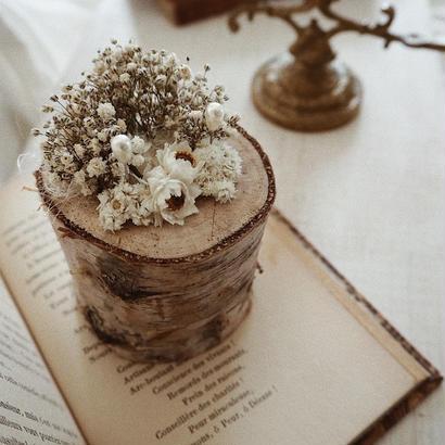 白樺ツリーのリングピローキット