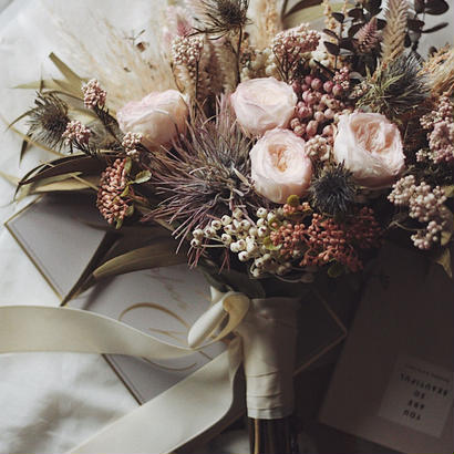 wedding ブーケ・ブートニア【セミオーダー】