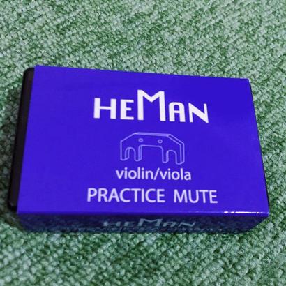 詩門HEMAN ミュート(バイオリン、ビオラ用)「型番:PM-01」
