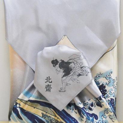 神奈川沖浪裏/北斎