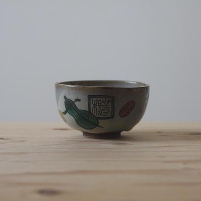 九谷の茶碗