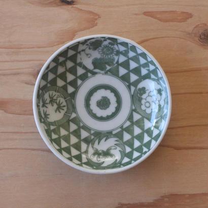 印判小皿(草花)