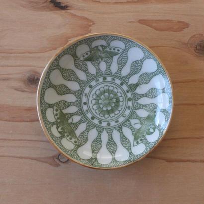 印判小皿(瓢箪)