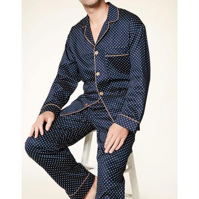 メンズパジャマ 長袖 コットン BedHead Pajamas ベッドヘッドパジャマズ Navy Richmond