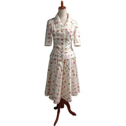 [SALE] 50年代風 レトロなブラウスと全円スカート Miss Candyfloss ミスキャンディフロス Bobby Ivy