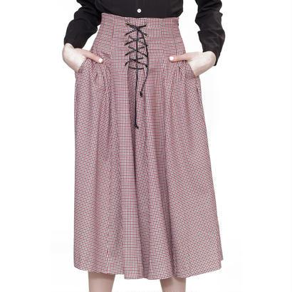 クラシカルな編み上げスカート Alice's Pig アリスズピッグ Lainey's Lacing AP326a