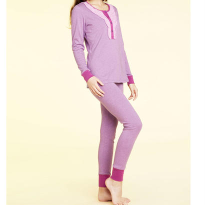 [SALE] BedHead Pajamas ヘンリーパジャマ Purple Heathered