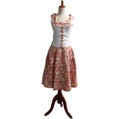 [SALE] 50年代風  Tブラウスとワイドスカート Miss Candyfloss ミスキャンディフロス Hope Day