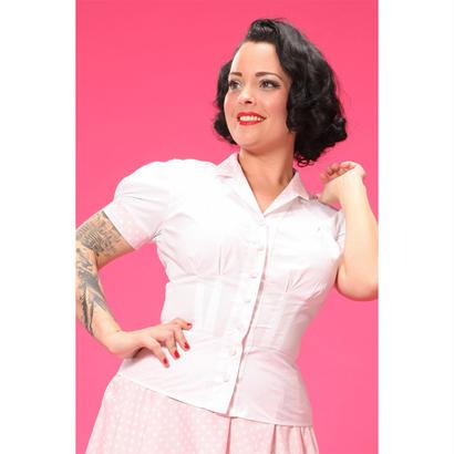 [SALE] 50年代風セクレタリーブラウス Miss Candyfloss ミスキャンディフロス Ginger May