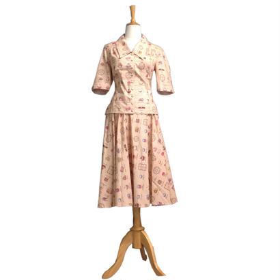 [SALE] 50年代風 レトロなブラウスと全円スカート Miss Candyfloss ミスキャンディフロス BobbyTanika