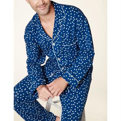 メンズパジャマ 長袖 ストレッチ BedHead Pajamas ベッドヘッドパジャマズ Demi Dot