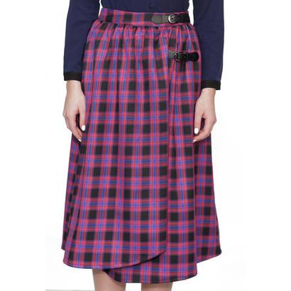 タータンチェックのラップスカート Alice's Pig アリスズピッグ Dawn's Django AP327a