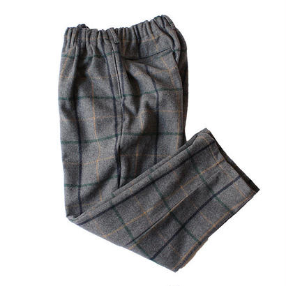 COMFORTABLE REASON / Wool 2tuck Laziest Slacks -Gray