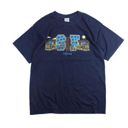 San Francisco souvenir tshirts (Navy)