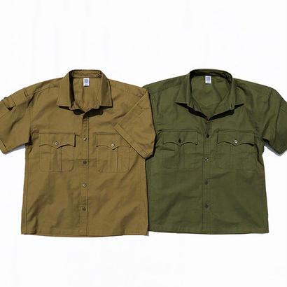 COMFORTABLE REASON / Panama Cloth Safari Shirts