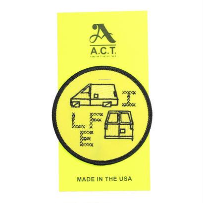 "A.C.T. ""VAN LIFE"" PATCH by SHOSUKE SEAN SUZUKI"
