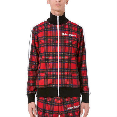Palm Angels パームエンジェルス Logo-embroidered checked jersey jacket ジャケット$420
