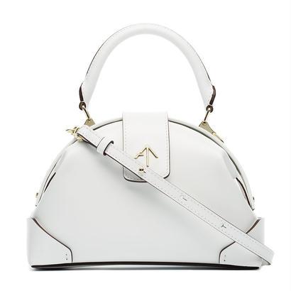 MANU atelierマニュアトリエ Demi Frame crossbody bag $528 バッグ ホワイト