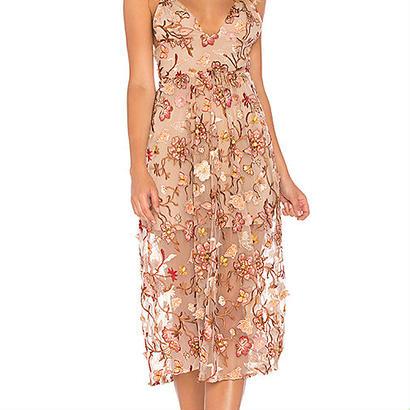 for love & lemons    Botanic midi dress  ワンピース $356
