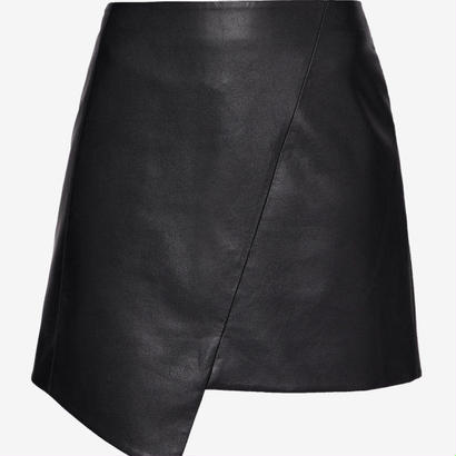 ted baker  Asymmetric faux leather skirt スカート   $459